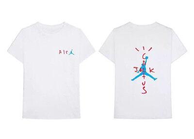 T Shirt Travis Scott Cactus Jack X Air Rodeo Tour Gildan Tee Sz S 3xl Ebay