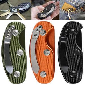 Portable-Pocket-Aluminum-Key-Holder-Organizer-Clip-Folder-Keychain-Keyring