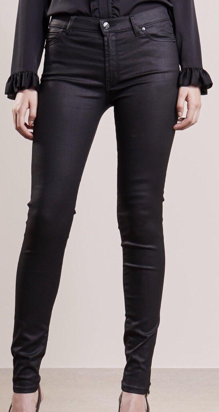 Hugo Boss schwarz Georgina Skinny Fit Jeans