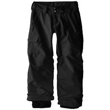 Medium 10-12 Black Ski Pants w CARGO Pckt  FREE Shpg NWTA ROEBUCK Boys' M