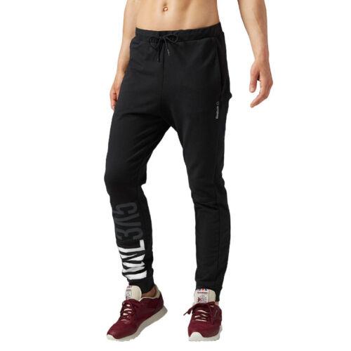 Damen Reebok Workout CS Baumwolle Hose Jogginghose Sporthose