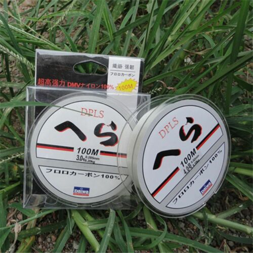 Super Strong Fluorocarbon 100M Fishing Line Sea Fishing Lure Fishing