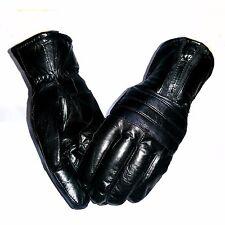 Echt Leder Männer Herren Finger Handschuhe gefüttert warm Lederhandschuhe Winter