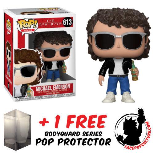FUNKO POP THE LOST BOYS MICHAEL EMERSON VINYL FIGURE FREE POP PROTECTOR
