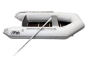 FISH 240 Luxus Schlauchboot mit Luftkiel, Spitzenqualität 100% gebaut in Europa