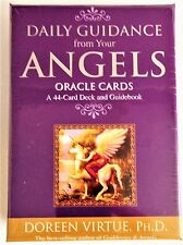 DOREEN VIRTUE DAILY GUIDANCE FROM YOUR ANGELS - 44 Oracle Cards & Guide Book