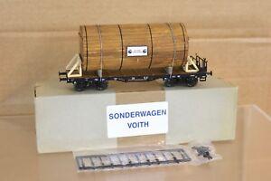 Marklin Märklin Sonderwagen Jm Voith Rungenwagen Wagon Plateau & Réservoir Charge