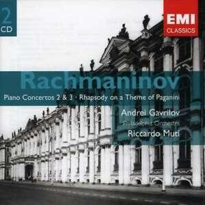Andrei-Gavrilov-Riccardo-Muti-Rachmaninov-Piano-Concertos-Nuevo-2-CD