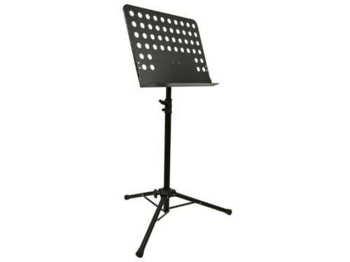 Heavy Duty Metal Adjustable Tripod Sheet Music Stand Holder Folding Conductor
