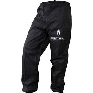 Richa Pluie Warrior Pantalon Moto Imperméable Noir Jrcf7el4-07222744-484459981