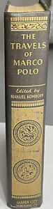 TRAVELS OF MARCO POLO 1930 Illustrated Kublai Khan Edition, Komroff VG Hardcover