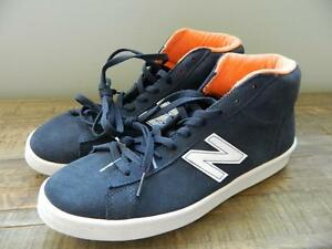 e96f67fc7434 New Balance JCrew 891 High top sneakers shoes navy white suede 8.5 ...