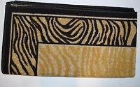 Accent Rug Brown Black Mat Rug African Safari Jungle Animal Print 26x48