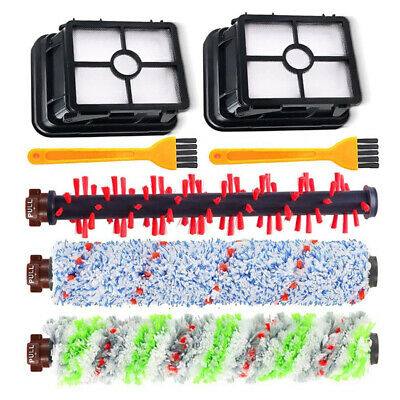 Details about  /6Pc//Set Filter Net Roll Brush Kit For Bissell Crosswave 1785 Vacuum-Cleaner Part