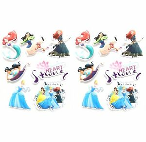 Disney-Princess-Sticker-Sheets-Ariel-Belle-Cinderella-Jasmin-Plastic-Merida-Free