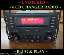 NEW ~ 2005-09 Pontiac G6 6 DISC CD CHANGER RADIO UNLOCKED- PLUG&PLAY REPLACEMENT