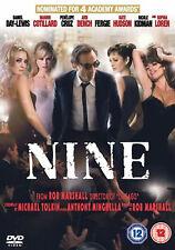 MUSICAL = NINE stars PENELOPE CRUZ / NICOLE KIDMAN / DANIEL DAY=LEWIS= VGC