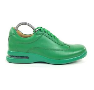 Cole-Haan-Air-Conner-Mens-Landscape-Green-Leather-Size-8-Shoes-Sneakers-C12587