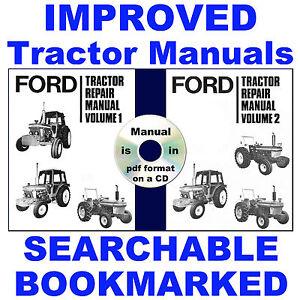 ford 3600 tractor repair manual