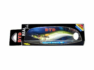 NEW DTD Squid Jig Real Fish Oita SOUND EFFECT Size SARGO 2.5 75mm Color