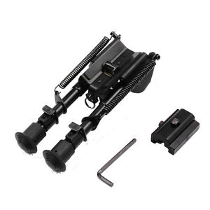 50-Degree-Rifle-Bipod-6-9-Inches-Adjustable-Foldable-Leg-Adapter-for-20mm-Rail