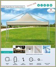 GAZEBO PAGODA MT. 5X5 FERRO ZINCATO COPERTURA PVC DA 650 GR/MQ
