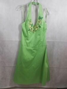 Image Is Loading Nwt Mint Green Spencer Jeremy Halter Dress Size