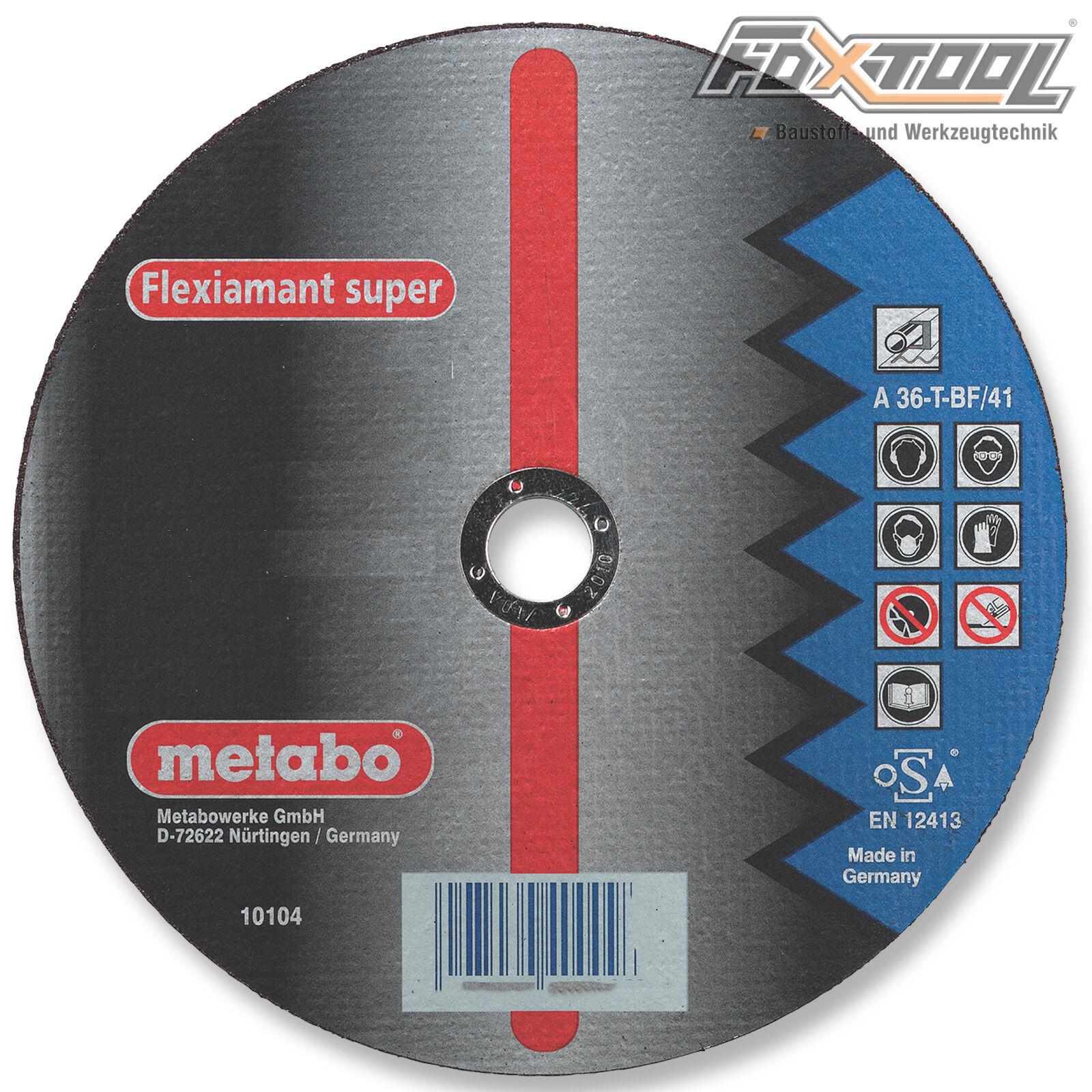 Metabo Flexiamant super 180x2x22,2 Stahl  Metall Trennscheibe Blech