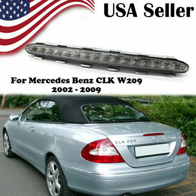 For Mercedes Benz CLK W209 2002-2009 Third Tail Brake LED Light Stop Lamp Clear//