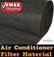 Air Conditioner Return Air Filter Media Material Aircon 1 Metre X 3 Metres