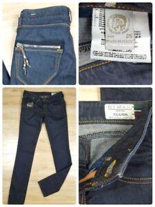 9b5bf12a Diesel Clush Jeans Women's Size 25 X 32 Dark Denim Wash Straight Leg ...