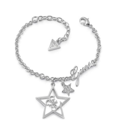 GUESS Stella Bracelet S Armband Accessoire Silver Silber Neu