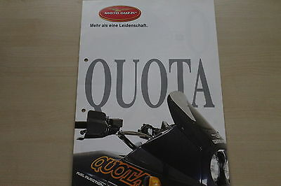 Moto Guzzi 1000 Quota Prospekt 198 Conscientious 167548 Bright And Translucent In Appearance
