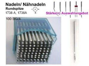 Stärken zur AUSWAHL Nadeln 1738 A 1738A Rundspitze 20 Stück