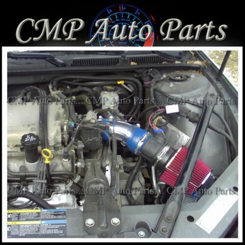 BLUE RED AIR INTAKE KIT 2006-2008 CHEVROLET MONTE CARLO IMPALA 3.5L 3.9L V6