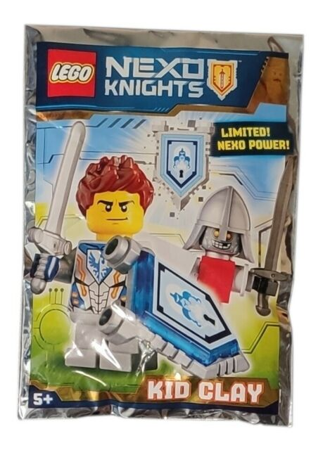 POLYBAG LEGO NEXO KNIGHTS KNIGHT SOLDIER Limited Edition Foil Pack 271830 Neuf