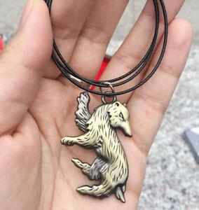 Harry-Potter-Hufflepuff-Logo-Necklace-Rope-Brozen-Metal-Pendant-Men-Otaku-Gift