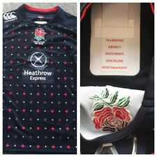 Player Issue Match England 7's Rugby Playing Shirt, Large,RFU, GPS Pouch,
