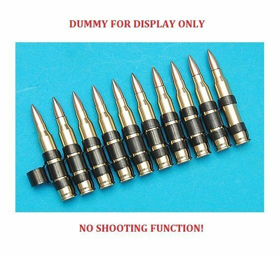 G&P Dummy 5.56 Cartridge Belt (10 Cartridges, Aluminum) GP825
