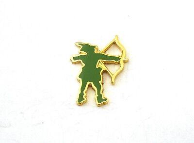 Robin Hood Pin Badge Tie Hat or Lapel Enamel Brooch Gift Present