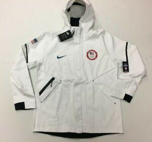 Details about Nike Team USA Olympic Tech Fleece Hoodie Jacket 909530 100 Mens XL
