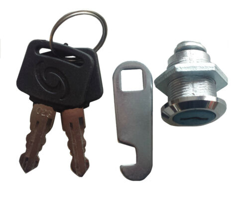 Briefkastenschloss Schrankschloss Möbelschloss Hebelschloss mit 2 Schlüssel