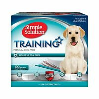 Simple Solution Dog Training Pads 23 X 24 In 100 Count Free Shipping