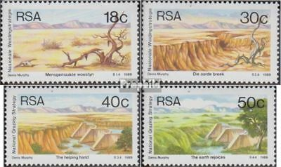 Attent Zuid-afrika 771-774 (volledige Uitgave) Postfris Mnh 1989 Recovery Weideland