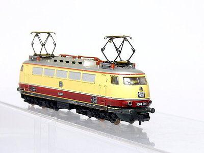 Minitrix 12945 N Gauge Locomotive / DC electric BR E 03 001 DB Plate metal