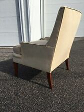 Vintage 60s Lounge Club CHAIR mcm PAUL MCCOBB / Robsjohn GIBBINGS Dunbar ERA
