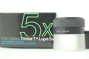 [Top Mint in Box] Carl Zeiss Triotar T 5x Lupe Loupe from JAPAN 254