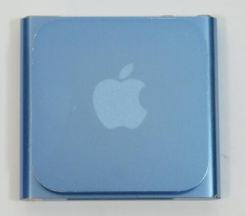Good Used Working Blue Apple iPod Nano 6th Generation 16GB A1366 MP3 Player