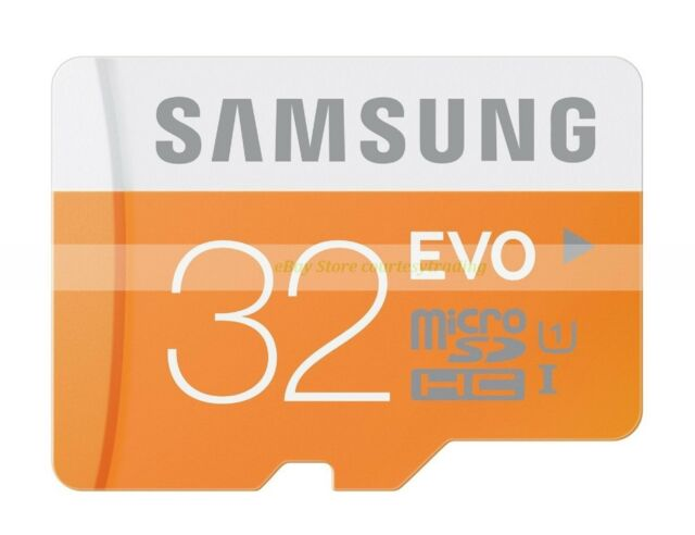 Samsung Micro SD HC 32GB 32G EVO 48MB/SEC Class 10 C10 U1 UHS1 Memory Card New