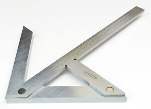8/'/'Precision Centering Square Guaging Center Gauge Round Bar Marking Finder